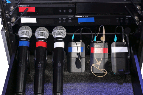 Shure BLX Wireless Mic System