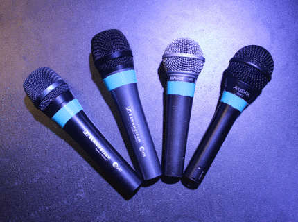Wired Vocal Mics